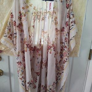 NWT sheer Kimono